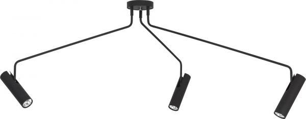 Lampy oświetlenie Nowodvorski - EYE SUPER black 3 6504